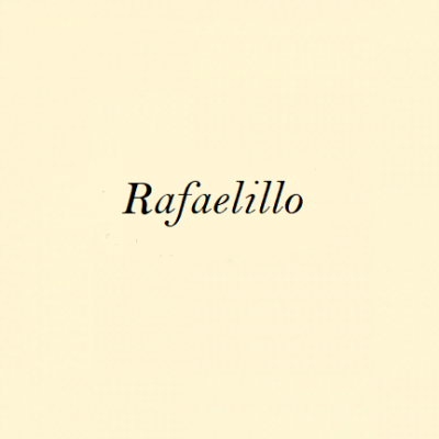 Rafael Rubio, <em>Rafaelillo</em>