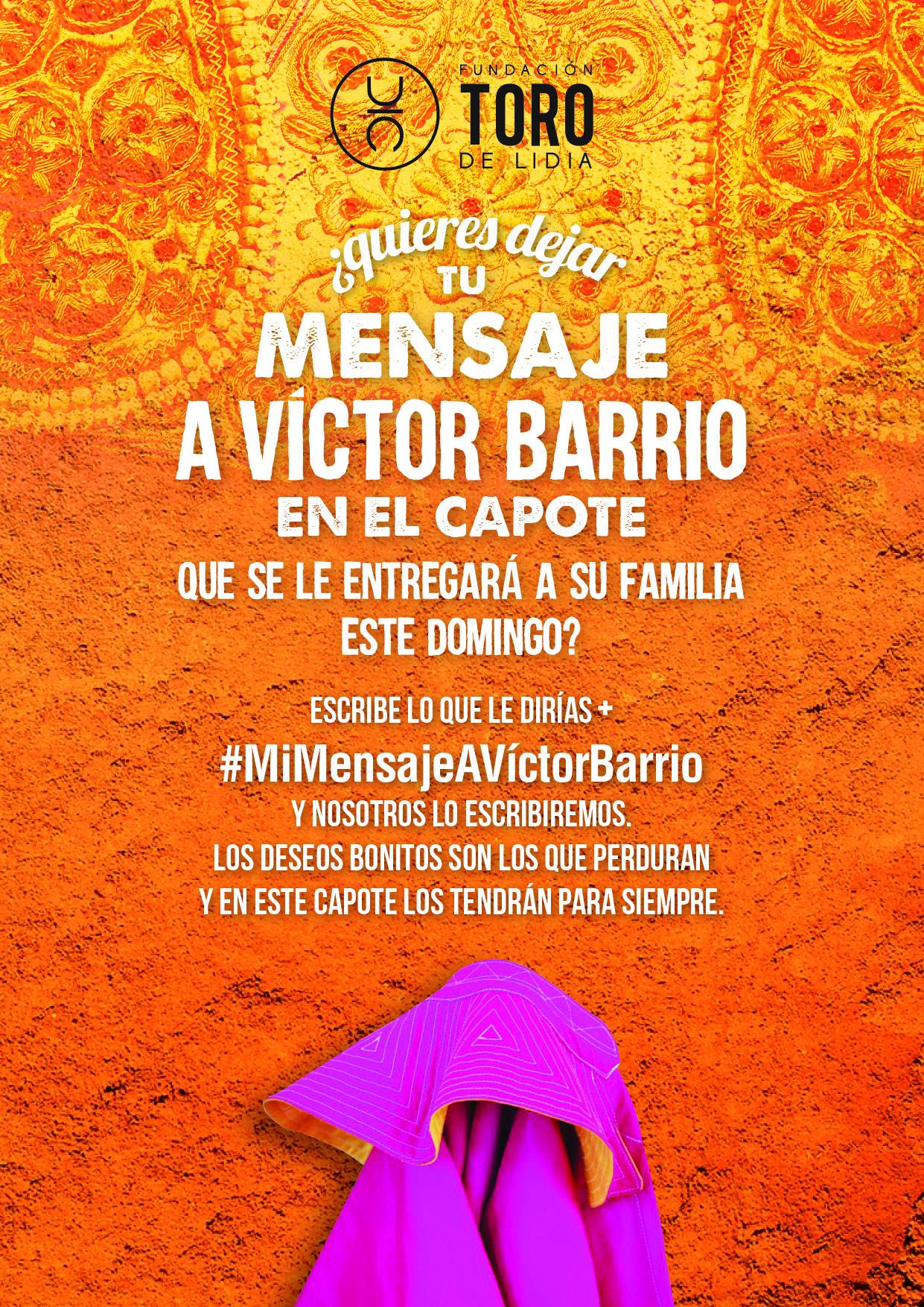 #mimensajeavictorbarrio
