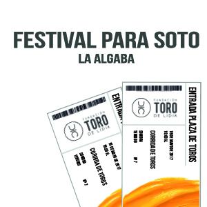 Sorteamos dos entradas para el Festival de Soto en La Algaba
