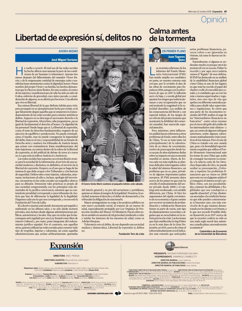defensa jurídica Fundación Toro de Lidia