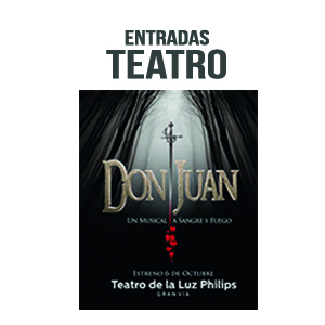 """Sorteamos dos entradas dobles para """"Don Juan, un musical a Sangre y Fuego"""""""