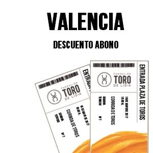 Descuento en el abono de la Plaza de Toros de Valencia