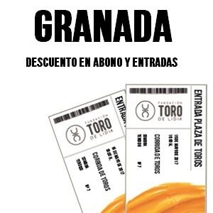 Granada: descuento en abono y entradas
