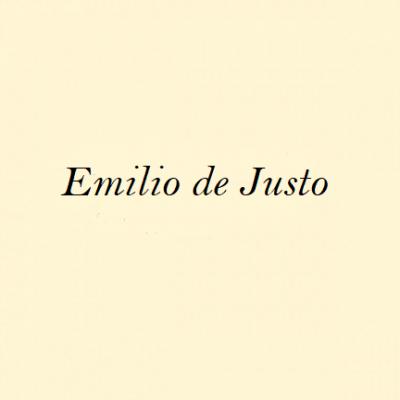 Emilio Elías Serrano, <em>Emilio de Justo</em>