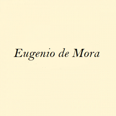 Eugenio Moreno, <em>Eugenio de Mora</em>