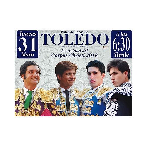 Sorteo entradas Corpus Christi de Toledo