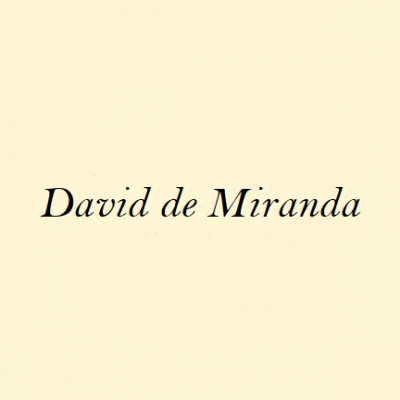 David Pérez, <em>David de Miranda</em>