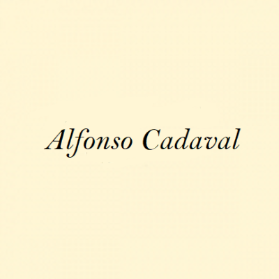 Alfonso Cadaval
