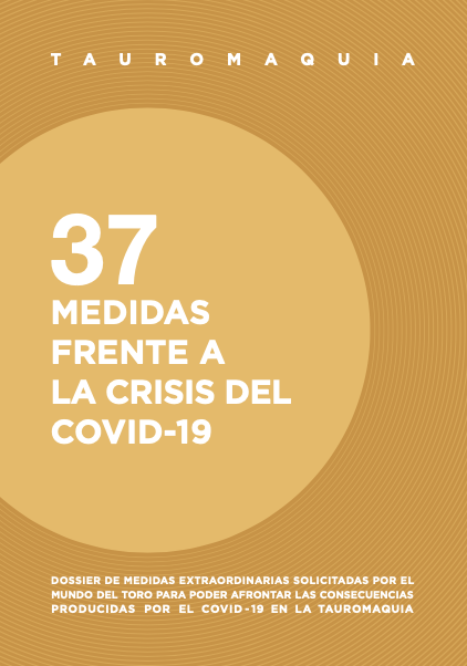 El sector taurino envía al Ministro de Cultura 37 propuestas de medidas extraordinarias para afrontar la crisis producida por el COVID-19 en la tauromaquia