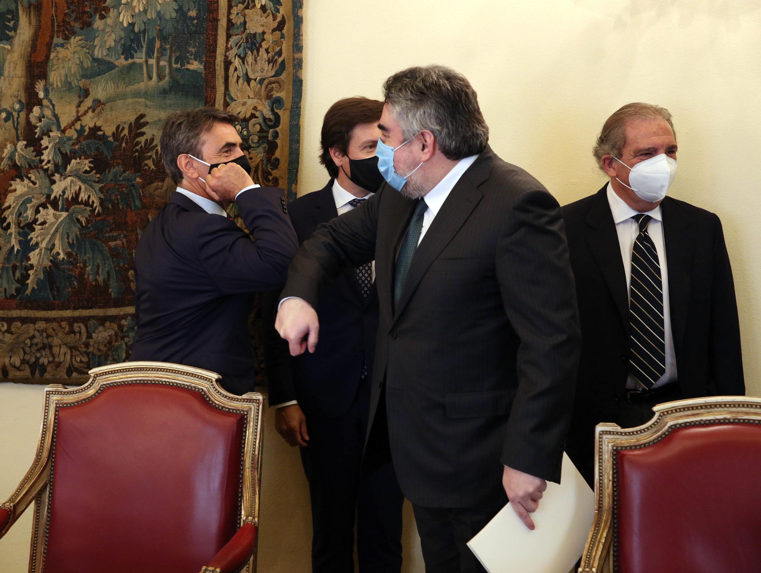 El ministro de Cultura se compromete a apoyar económicamente a la tauromaquia a través de los fondos de la Unión Europea