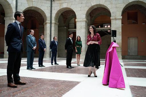 El sector taurino aborda la situación de la tauromaquia con Isabel Díaz Ayuso, presidenta de la Comunidad de Madrid