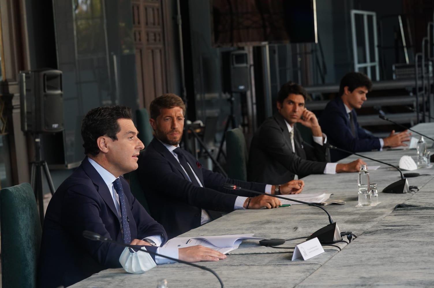 El sector taurino se reúne con la Junta de Andalucía para abordar la situación actual del mundo del toro