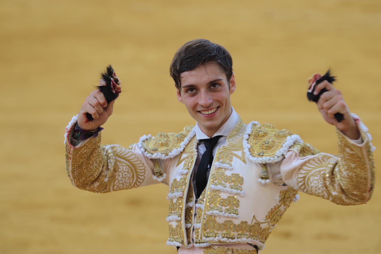 Jaime González-Écija, triunfador en Antequera, completa el cartel de la gran final del Circuito de Novilladas de Andalucía
