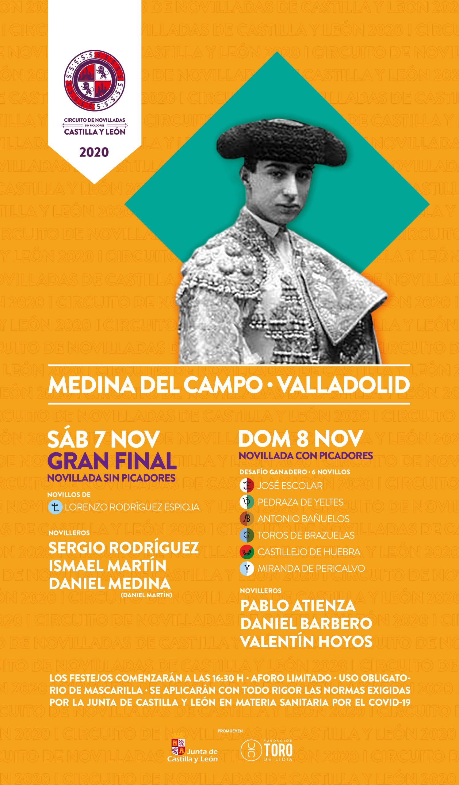 La final del Circuito de Novilladas sin picadores de Castilla y León se aplaza al 7 de noviembre