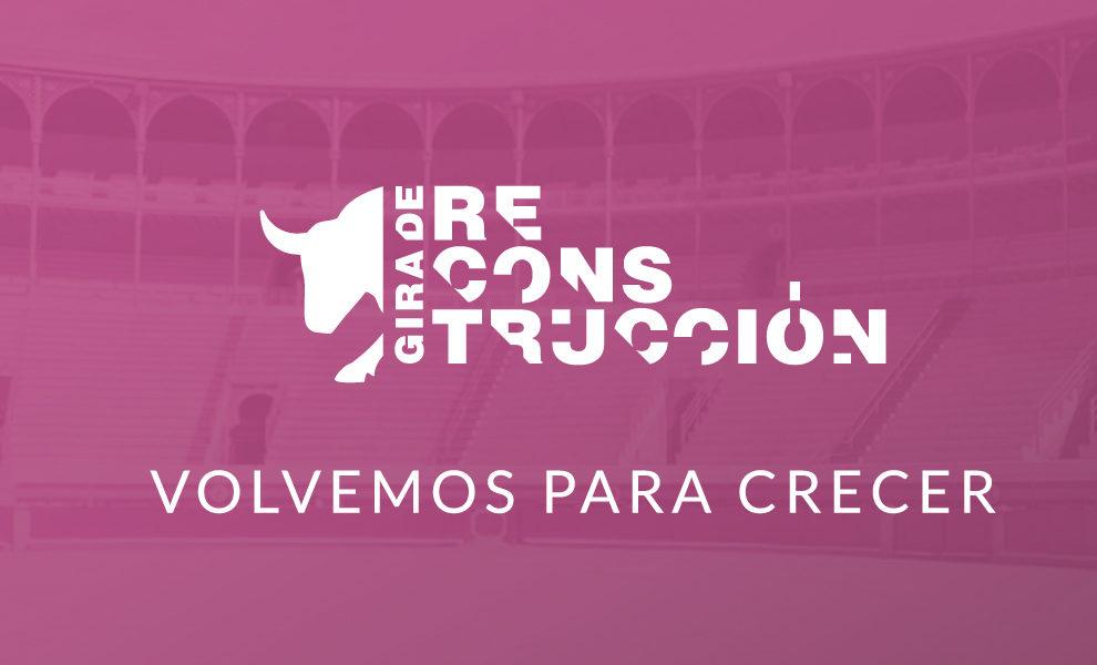 Arranca la gira de reconstrucción en 2021 con la finalidad de consolidar el programa de recuperación de espacios para la tauromaquia