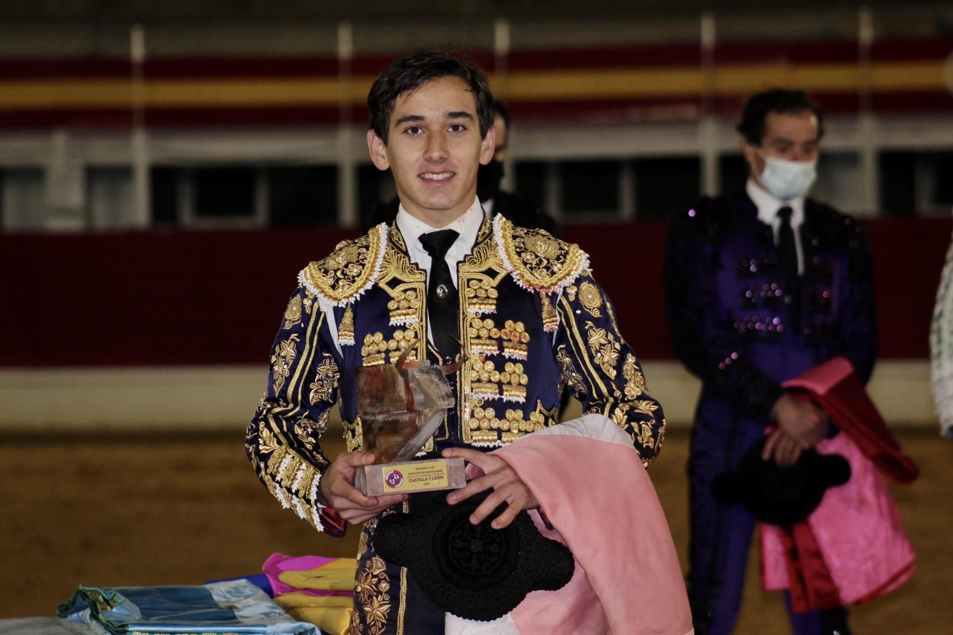 Ismael Martín, novillero triunfador de Castilla y León 2020