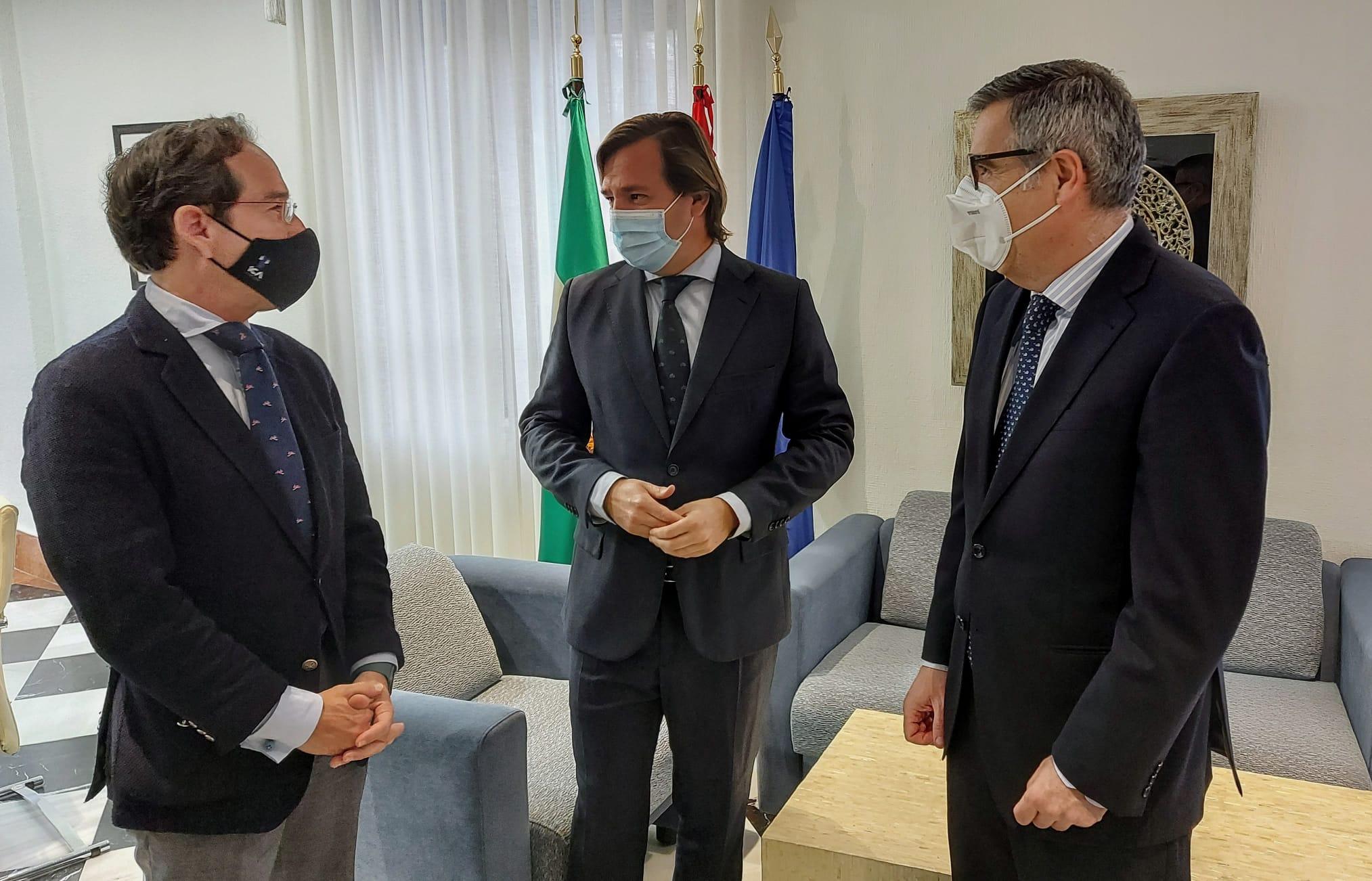 El Delegado del Gobierno de la Junta de Andalucía ratifica el apoyo a la tauromaquia