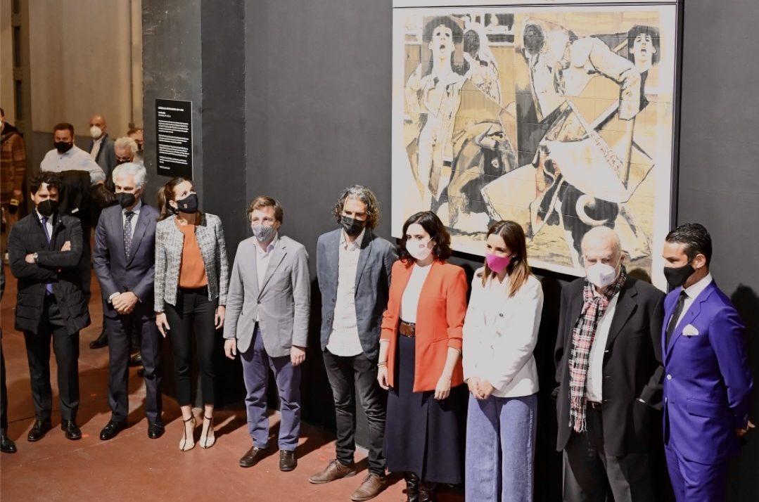 Se inaugura en Las Ventas la obra de Luis Gordillo en memoria de Víctor Barrio