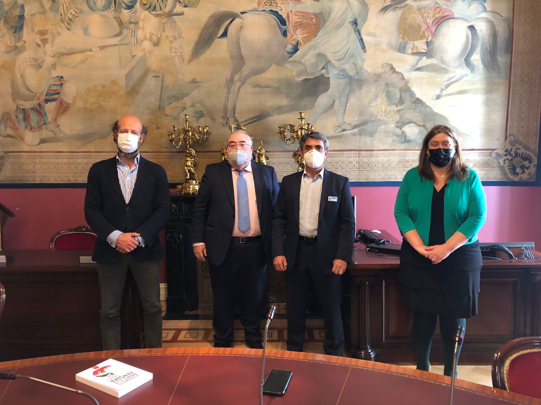 La FTL se reúne con el Grupo Socialista en el Senado