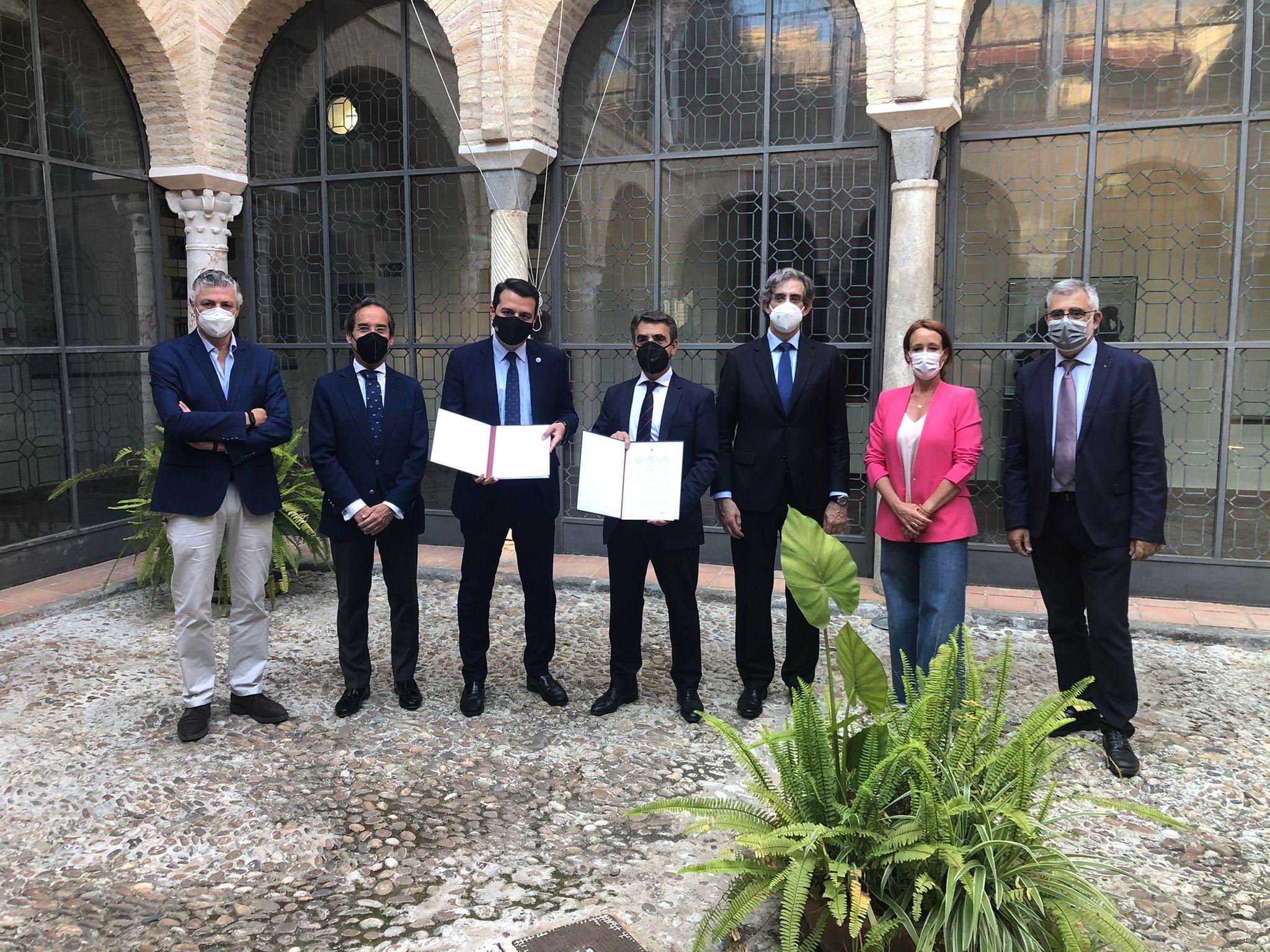 El Ayuntamiento de Córdoba y el Capítulo de la FTL firman un convenio de colaboración