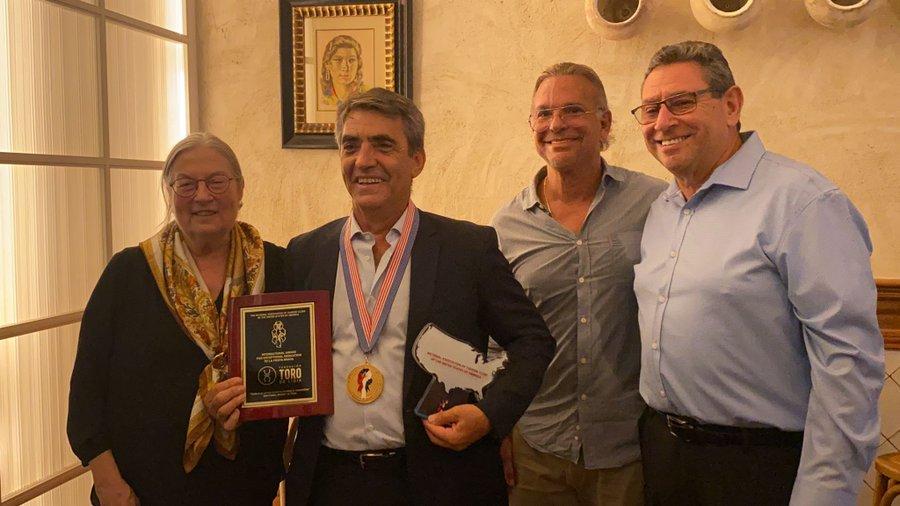 La Fundación Toro de Lidia recibe el reconocimiento de los clubes taurinos de Estados Unidos