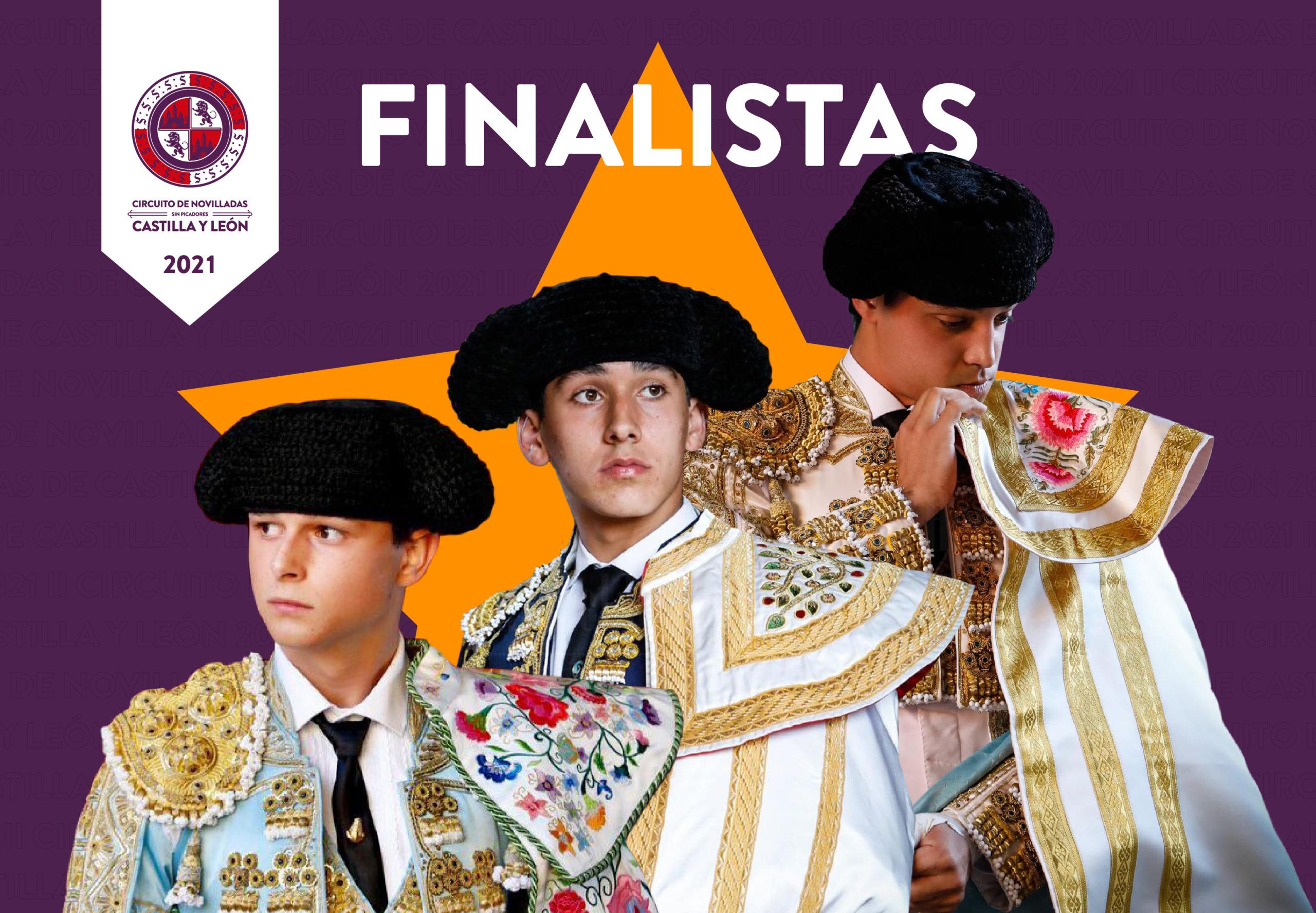 Ismael Martín, Mario Navas y Daniel Medina, en la final de Fuentesaúco